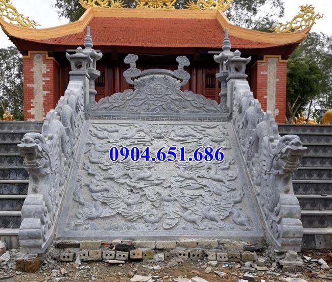 Bán các mẫu chiếu rồng đá nhà thờ họ, từ đường ở các tỉnh Đông Bắc Bộ