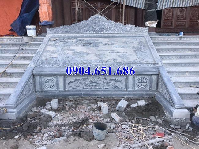 Bán mẫu chiếu rồng đình chùa bằng đá 09