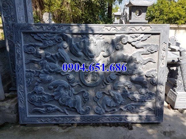 Giá chiếu rồng đá nhà thờ họ, từ đường, nhà thờ tộc, khu lăng mộ nghĩa trang gia đình