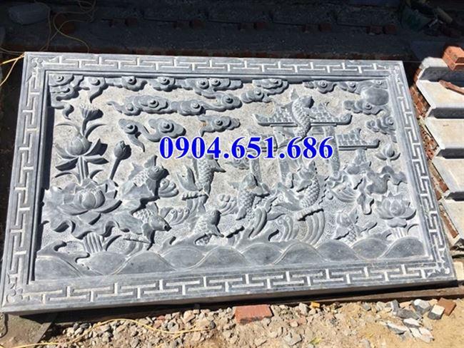 Mẫu chiếu đá nhà thờ họ, nhà thờ tộc bằng xanh Thanh Hóa bán tại Hà Tĩnh