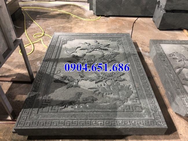 Mẫu chiếu rồng đá xanh rêu thiết kế đơn giản đẹp bán tại Phú Thọ