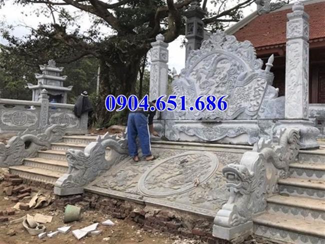 Mẫu chiếu rồng đình chùa đá xanh Ninh Bình Bán tại Quảng Bình giá rẻ