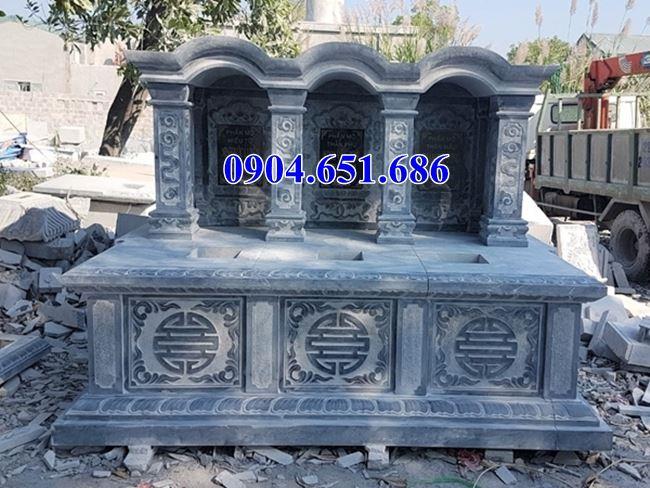Mẫu mộ đôi mái vòm đẹp kích thước chuẩn phong thủy