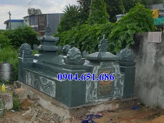 Xây mẫu nhà mồ bằng đá hoa cương granite giá rẻ