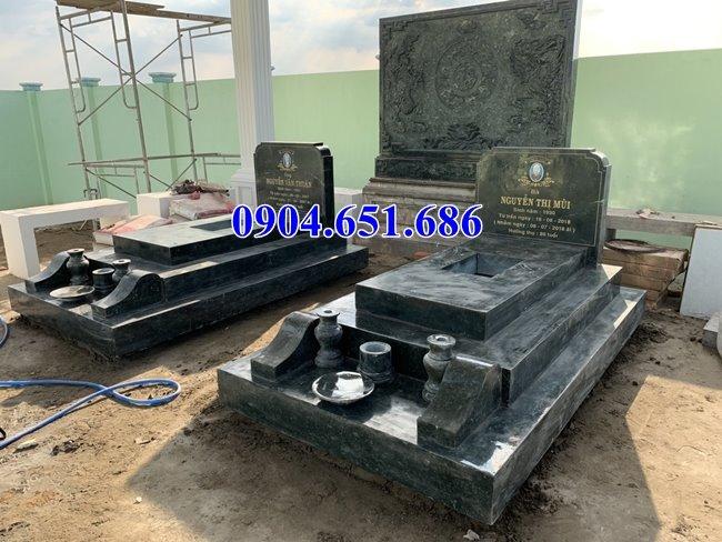 Địa chỉ bán mộ đôi gia đình bằng đá khối tự nhiên đẹp ở Quảng Nam