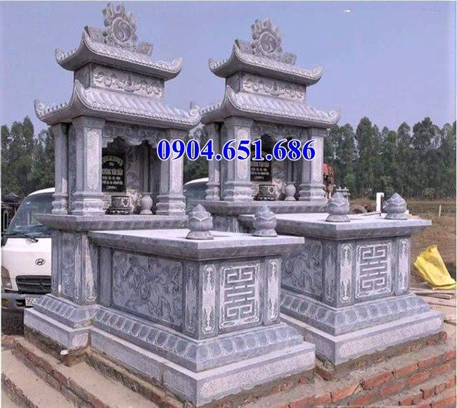 Địa chỉ làm mộ đá đôi giá rẻ tại Quảng Ngãi