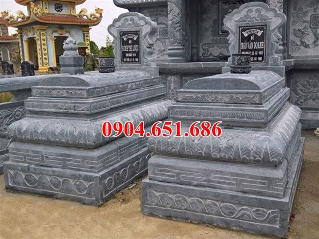 Cơ sở làm mộ đôi bằng đá đẹp ở Quảng Nam uy tín chất lượng giá rẻ
