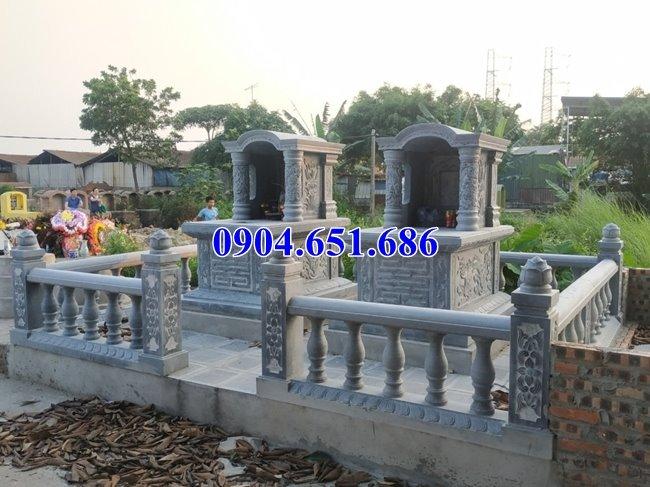 Cơ sở làm mộ đôi bằng đá đẹp tại Sài Gòn uy tín chất lượng giá rẻ
