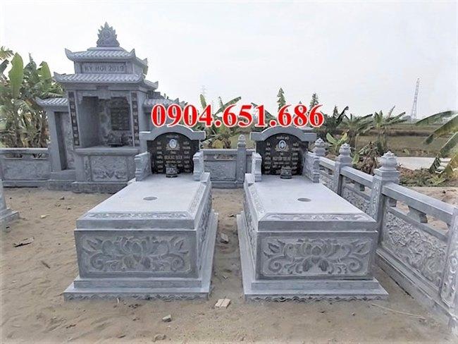 Giá bán mẫu mộ đá đôi tại Quảng Nam