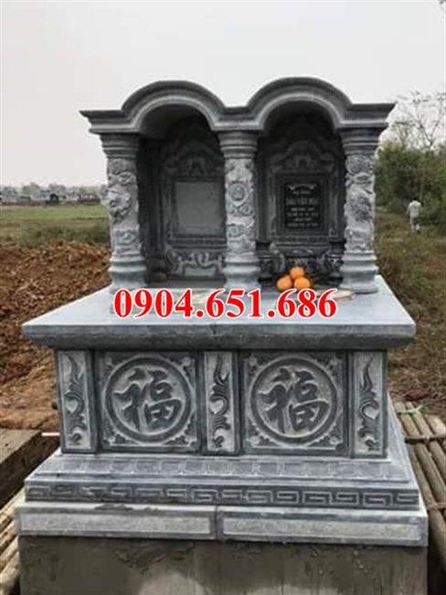 Giá bán mộ đôi đá khối tự nhiên tại tỉnh Quảng Nam