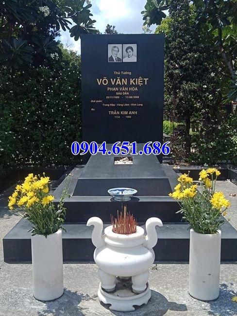 Mẫu mộ đá hoa cương Quảng Ninh Đẹp