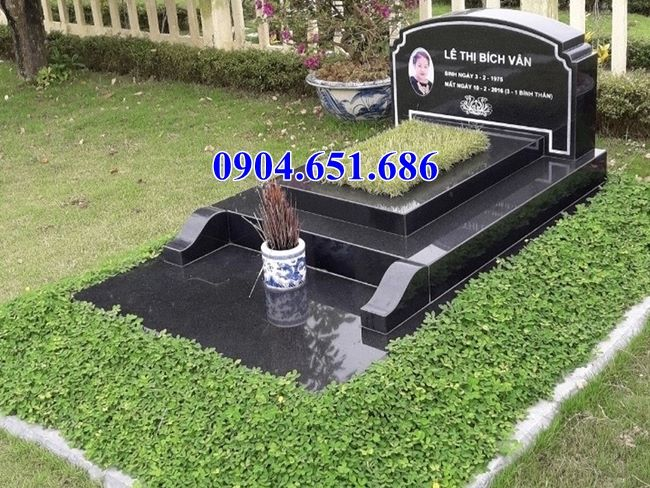 Mẫu mộ đá hoa cương nguyên khối đẹp bán ở Đà Nẵng, Huế