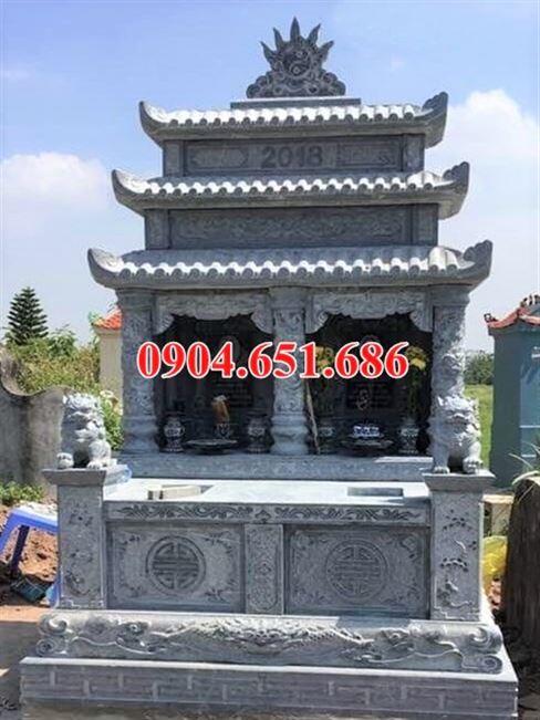 Mẫu mộ đôi Đà Nẵng ba mái che đẹp giá rẻ