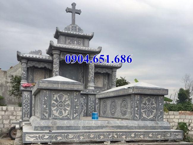 Mẫu mộ đạo công giáo đá mỹ nghệ Ninh Bình bán tại Đà Nẵng