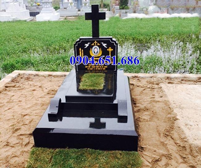 Mẫu mộ công giáo đá hoa cương đẹp