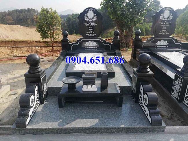 Mộ đá granite kim sa nguyên khối bán tại Đà Nẵng giá rẻ