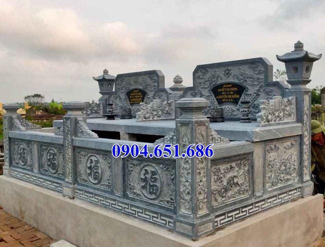 Địa chỉ bán, làm mộ đôi gia đình bằng đá đẹp tại Lào Cai