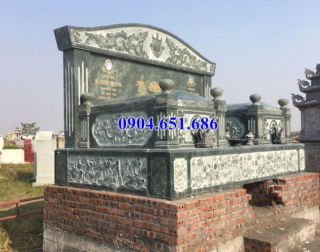 Địa chỉ bán mộ đá đôi gia đình đẹp tại Lào Cai uy tín chất lượng
