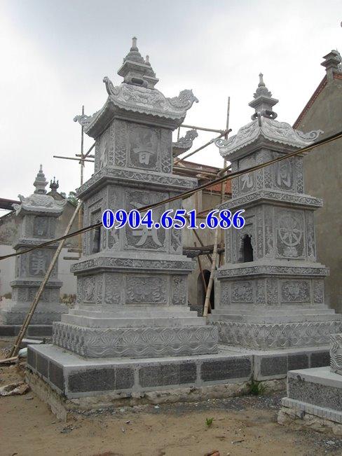 Địa chỉ bán mộ tháp đá đẹp tại Long An