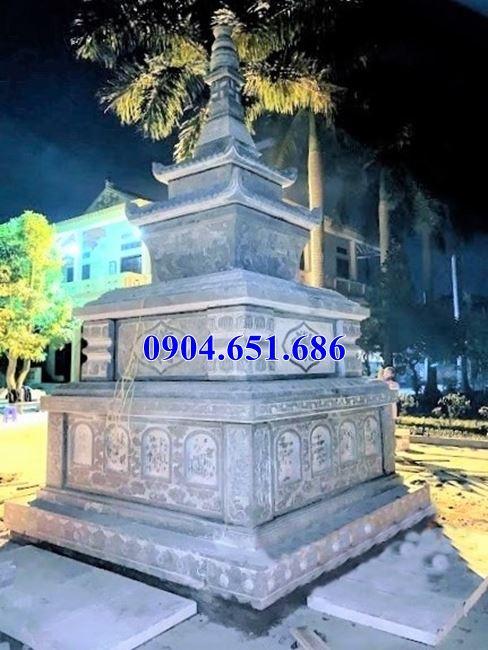 Địa chỉ bán, thiết kế, xây bảo tháp đá khối tự nhiên đẹp tại Sài Gòn