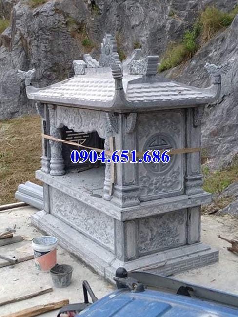 Địa chỉ bán và lắp đặt am thờ thần linh bằng đá khối tự nhiên tại Vĩnh Long, Đồng Tháp