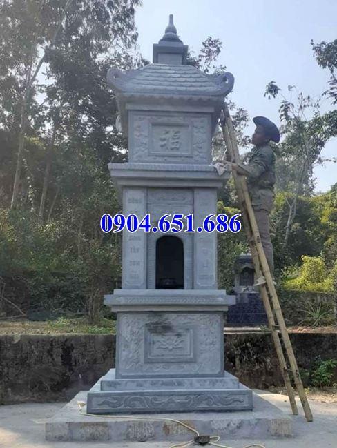 Địa chỉ bán, xây bảo tháp đá phật giáo đẹp tại Tiền Giang