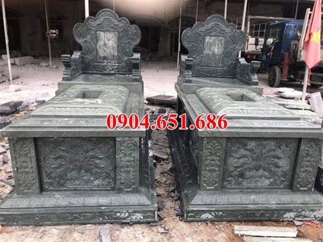 Địa chỉ bán, xây mộ đôi gia đình bằng đá đẹp ở Yên Bái