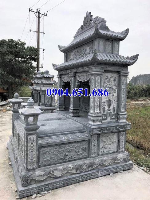 Địa chỉ bán, xây mộ đôi gia đình bằng đá khối tự nhiên đẹp ởHà Nội