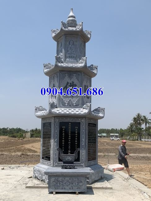 Bán mẫu mộ đá tháp phật giáo tại Cần Thơ