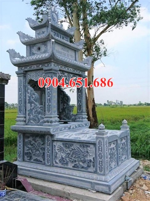 Giá bán mộ đá đôi ba mái, ba đao tại Hà Nội