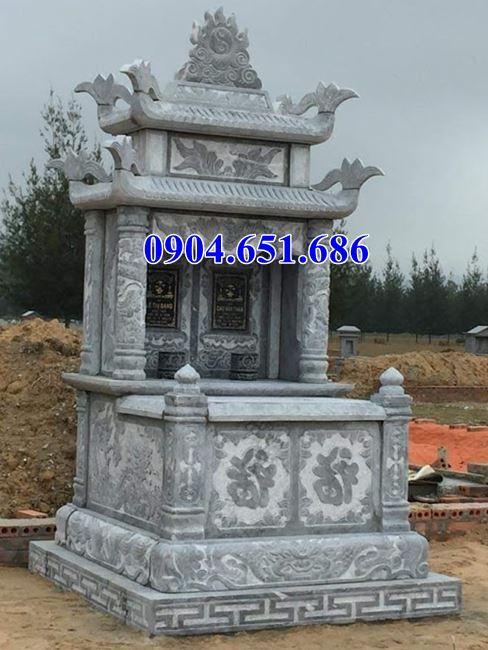 Giá bán mộ đá đôi hai mái tại Hà Nội
