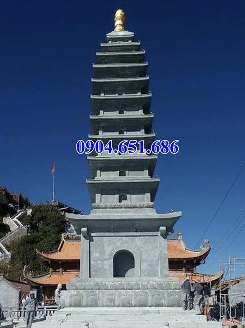 Mẫu bảo tháp đá đẹp bán tại Tiền Giang – Bảo tháp phật giáo