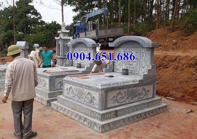 Mộ đá đôi tại Hà Giang