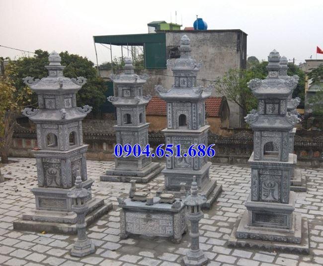 Thiết kế xây khu mộ tháp đá phật giáo hợp phong thủy