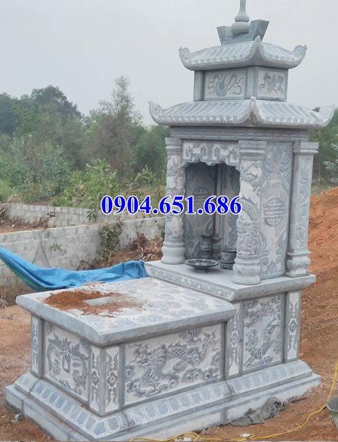 Địa chỉ bán, xây lăng mộ đá, nhà mồ đá đẹp tại Hậu Giang uy tín chất lượng
