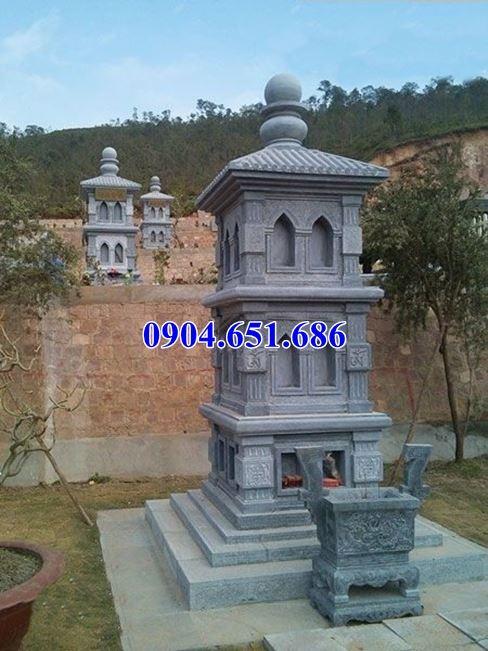 Giá bán mộ đá hình tháp phật giáo để tro cốt ở Đắk Nông