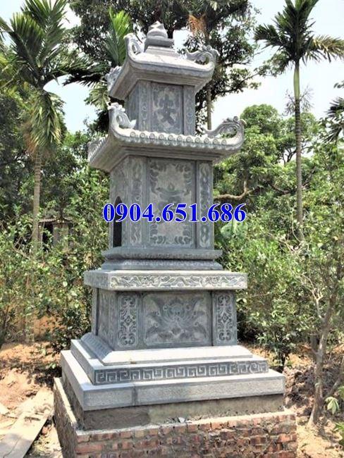 Kích thước mộ đá tháp chuẩn phong thủy