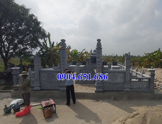 Khu lăng mộ thiết kế xây kích thước hợp phong thủy