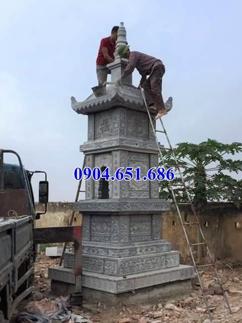Mẫu bảo tháp đá bán tại Tây Ninh – Mộ đá tháp phật giáo để tro cốt