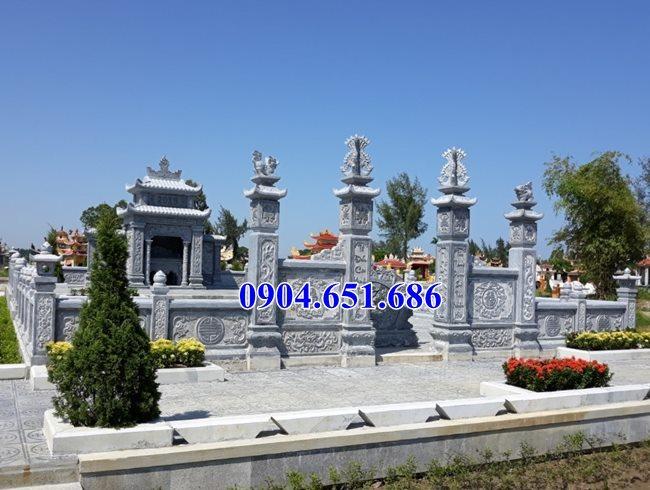 Mẫu khu lăng mộ, nghĩa trang gia đình bán tại Sài Gòn