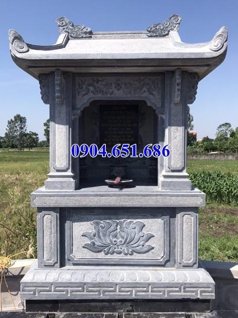 Mẫu lăng mộ đá để tro cốt bán tại Trà Vinh 03 – Am thờ để tro cốt