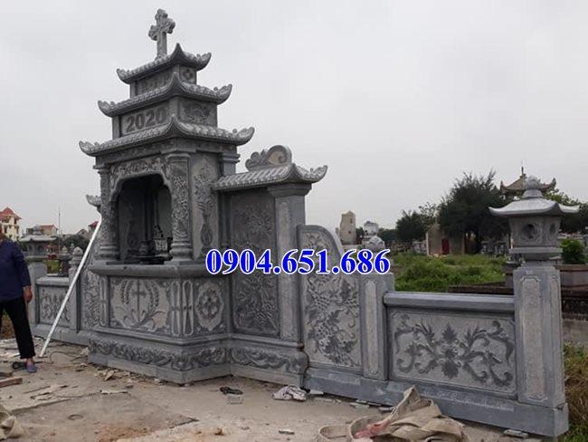 Mẫu lăng mộ đá công giáo bán tại Bắc Kạn 06 – Lăng mộ đạo