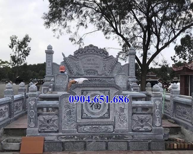 Mẫu lăng mộ đá gia đình bán tại Bà Rịa Vũng Tàu02 – Khu lăng mộ gia đình