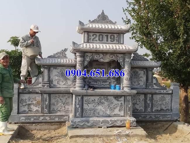 Mẫu lăng mộ đá gia đình bán tại Bình Thuận02 – Khu lăng mộ gia đình