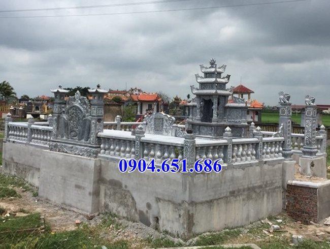 Mẫu lăng mộ đá gia đình bán tại Hà Giang04 – Khu lăng mộ đá gia đình