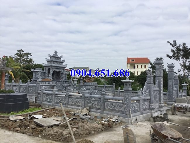 Mẫu lăng mộ đá gia đình bán tại Tuyên Quang04 – Khu lăng mộ gia đình