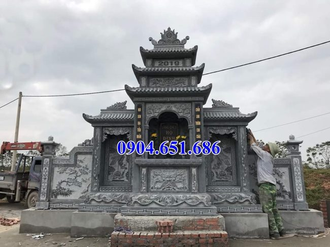 Mẫu lăng mộ đá mỹ nghệ Ninh Bình đẹp