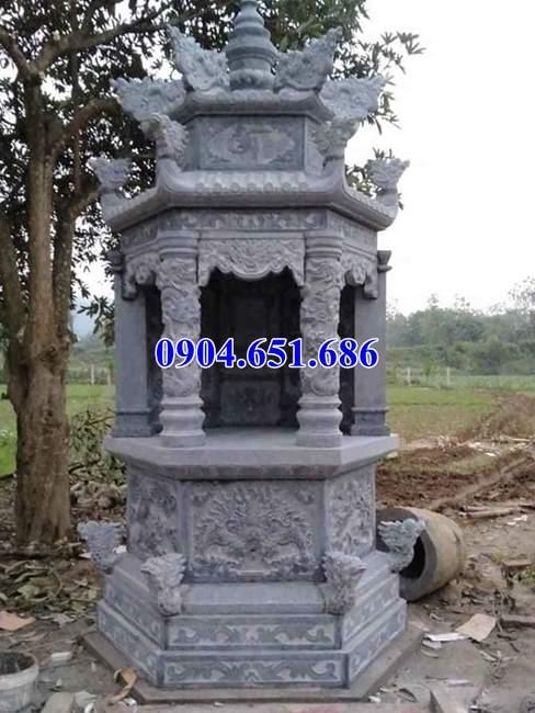 Địa chỉ thiết kế, xây mộ tháp đá khối tự nhiên ở Quảng Ngãi uy tín chất lượng