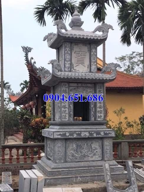 Xây mẫu mộ tháp phật giáo để tro cốt đẹp giá rẻ