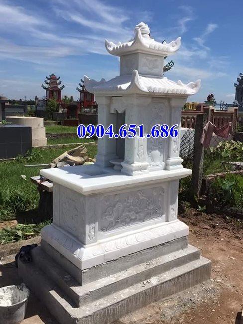 Địa chỉ bán, xây mộ đá, nhà mồ đá trắng tại Sài Gòn và các tỉnh Miền Đông uy tín chất lượng